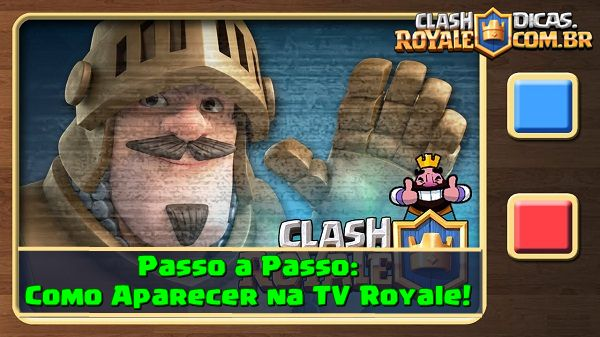 Como aparecer na TV Royale?
